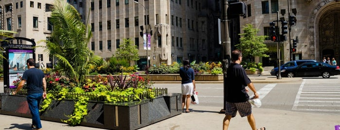The Magnificent Mile is one of Chicago.