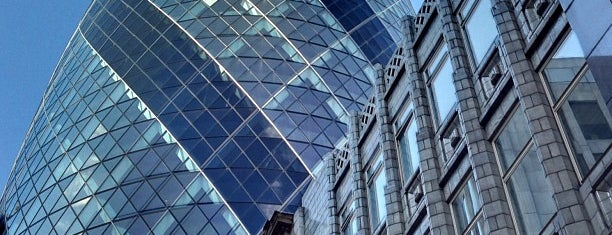 30 St Mary Axe is one of London.
