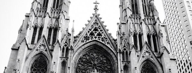 St. Patrick's Cathedral is one of Architecture - Great architectural experiences NYC.