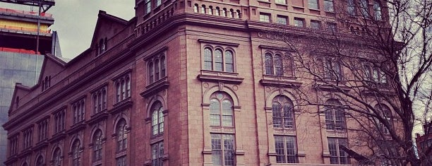 The Cooper Union is one of Architecture - Great architectural experiences NYC.