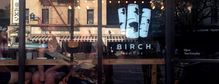 Birch Coffee is one of NYC coffee.