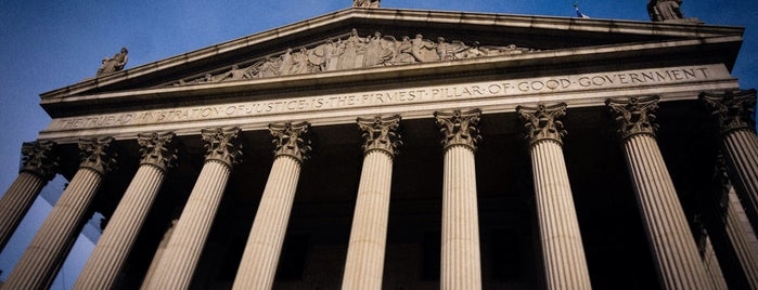New York Supreme Court is one of Architecture - Great architectural experiences NYC.
