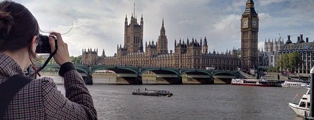 London Eye / Waterloo Pier is one of London.