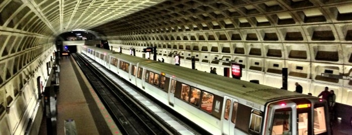 McPherson Square Metro Station is one of WMATA Train Stations.