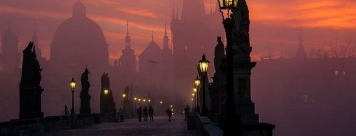 Charles Bridge is one of Prague.