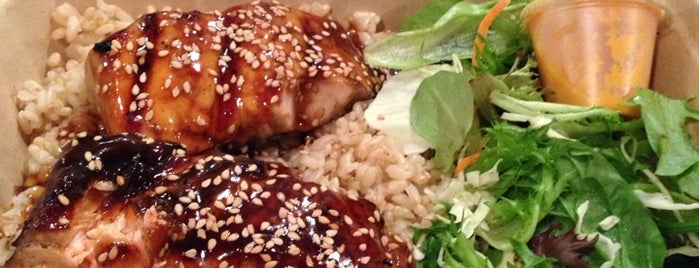 Glaze Teriyaki is one of Places to Use Campus Cash.