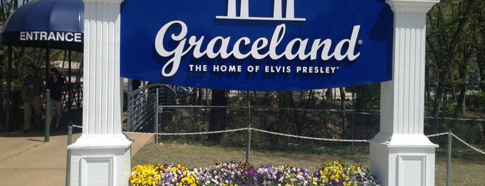 Graceland is one of Elvis Sites.