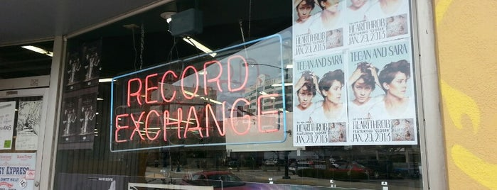 The Record Exchange is one of here and there.
