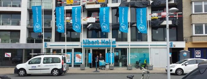 Albert Heijn is one of places to go.