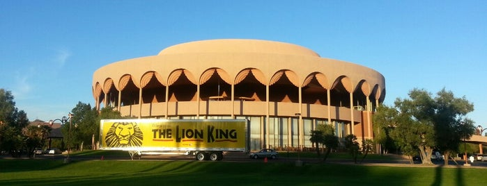 ASU Gammage is one of Fall Welcome Events: Tempe campus.
