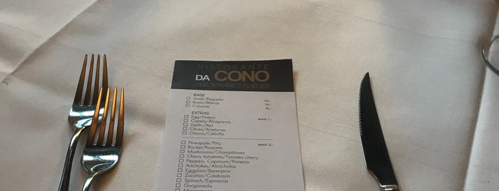 Pizzeria Da Cono is one of Restaurants Zurich.
