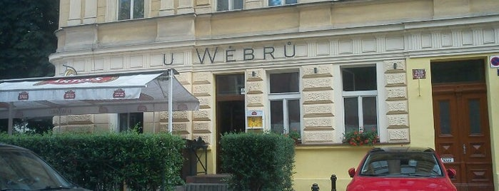 U Wébrů is one of Food.