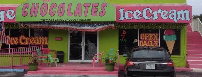 Key Largo Chocolates and Ice Cream is one of USA Key West.