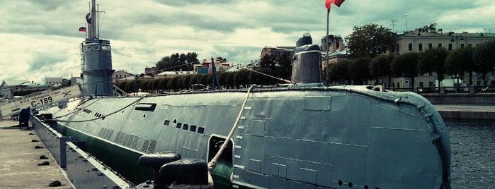 Подводная лодка С-189 is one of Интересное в Питере.