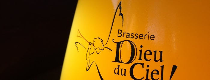Dieu du Ciel! is one of Beer / RateBeer's Top 100 Brewers [2015].