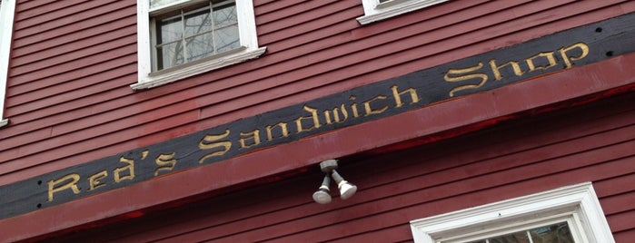 Red's Sandwich Shop is one of Endicott.