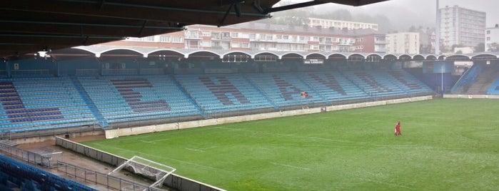 Stade Jules-Deschaseaux is one of Le Havre #4sqCities.