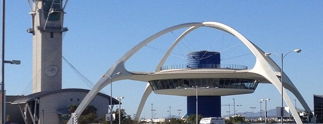 Los Angeles International Airport (LAX) is one of Dan's Places.