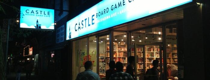 Castle Board Game Café is one of Bucket.