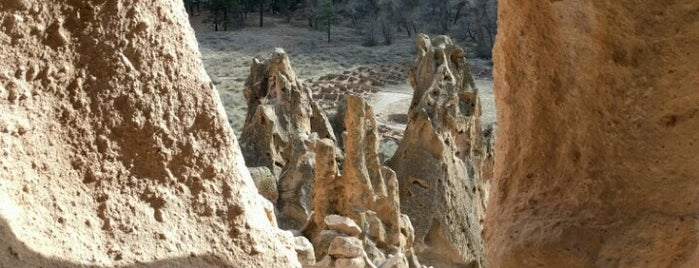 Bandelier National Monument is one of National Parks.