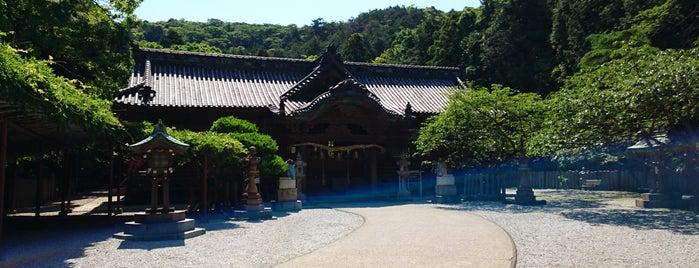 早吸日女神社 is one of 神社.