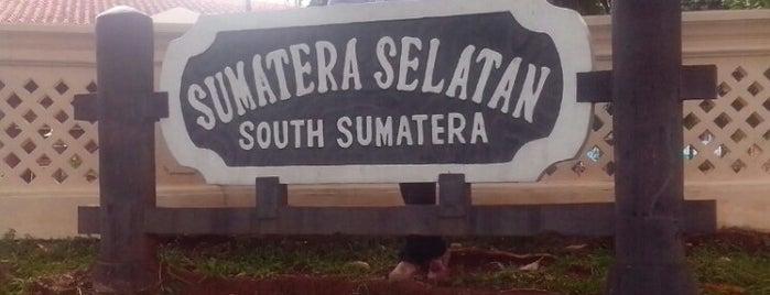 Anjungan Sumatera Selatan is one of Anjungan rumh adt sumsel.