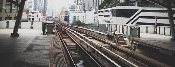 BTS Asok (E4) is one of BTS Station - Sukhumvit Line.