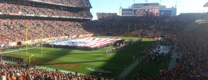 Sports Authority Field at Mile High is one of Experience Teams & Venues.