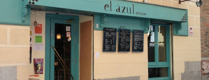 El Azul is one of Desayunos y meriendas en Madrid.