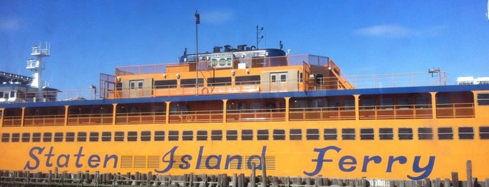 Staten Island Ferry Boat - Guy V. Molinari is one of New York favorites.