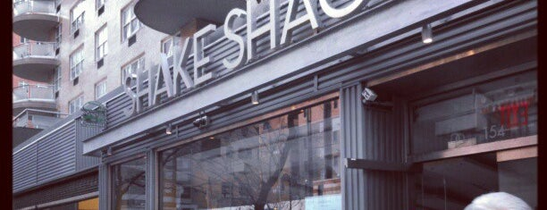 Shake Shack is one of NYC Manhattan East 65th St+.