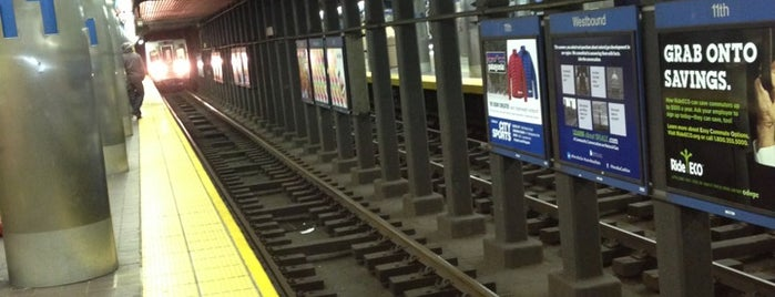 SEPTA: 11th Street Station (MFL) is one of Travel.