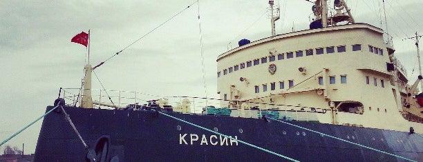 Ледокол «Красин» is one of Интересное в Питере.