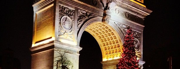Washington Square Park is one of Winter Break To Do!.
