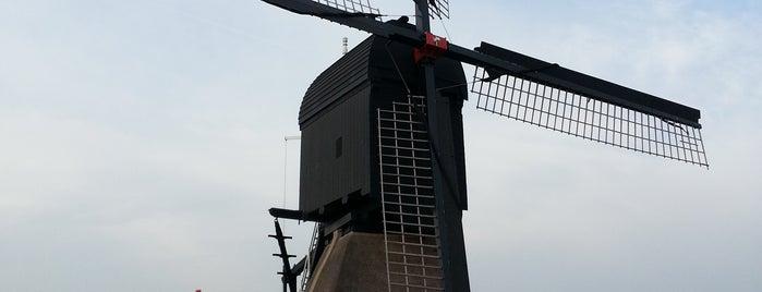 Oostmolen is one of Molenroute Hoeksche-Waard.