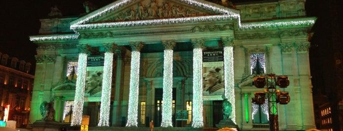 Bourse de Bruxelles is one of Brussels Spots #4sqCities.