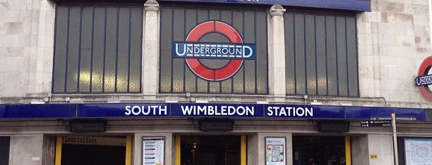 South Wimbledon London Underground Station is one of Tube Challenge.