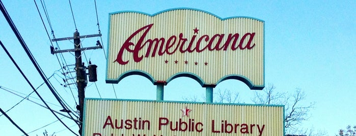 Yarborough Branch, Austin Public Library is one of Censored Internet.