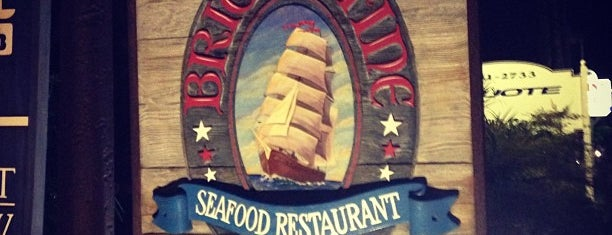 Brigantine Point Loma is one of The 15 Best Places for Seafood Tacos in San Diego.