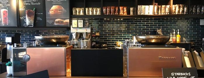 Starbucks is one of Common Stops.