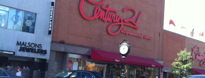 Century 21 Department Store is one of 2012 - New York.