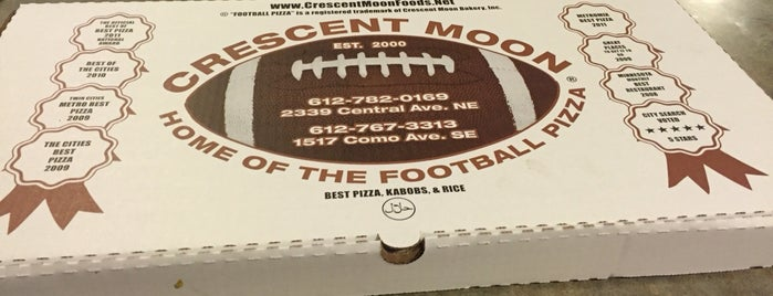 Crescent Moon Pizza is one of MPLS to-do.
