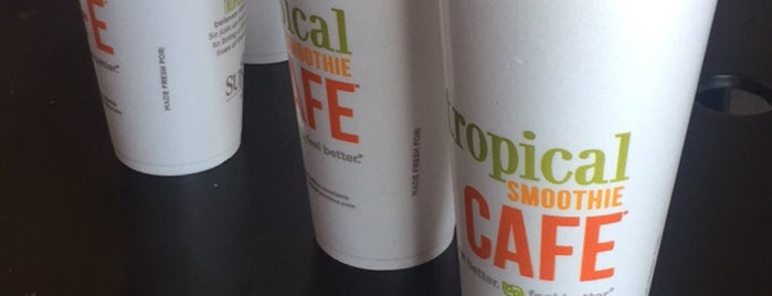 Tropical Smoothie Café is one of Vegan dining in Las Vegas.