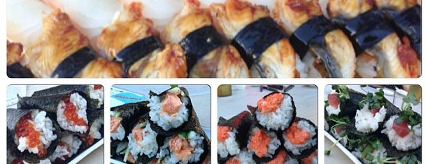 Kats Sushi is one of Go to places.