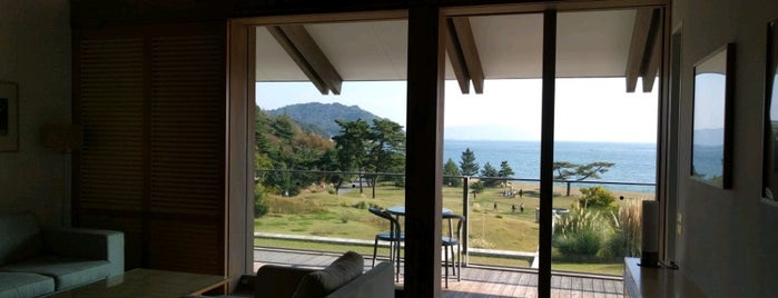 Benesse House Park is one of Art Setouchi & Setouchi Triennale - 瀬戸内国際芸術祭.