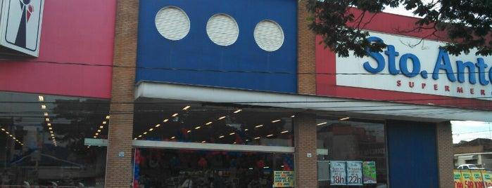 Supermercado Santo Antônio is one of Supermercados.
