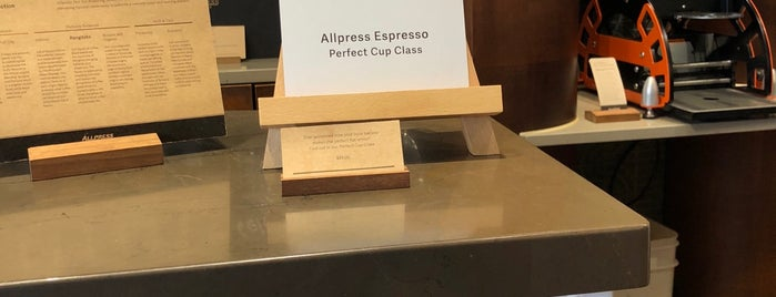 Allpress Coffee is one of Café's.