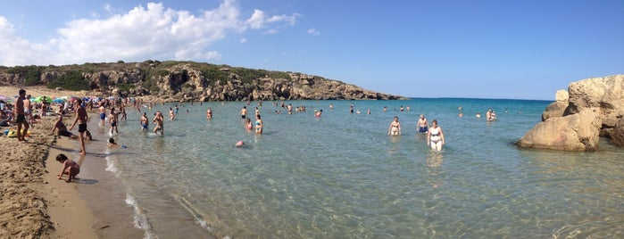 Spiaggia di Calamosche is one of South Italy.