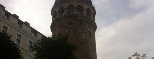 Galata Tower is one of Kuyumcu.