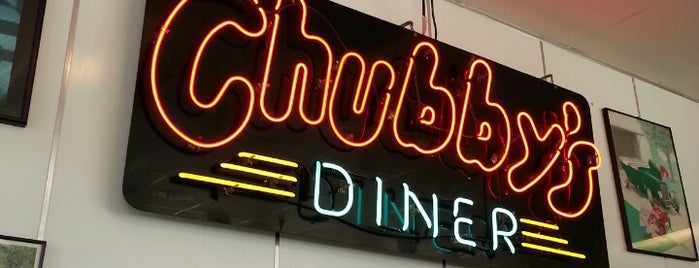 Chubby's Diner is one of Santa Cruz area.